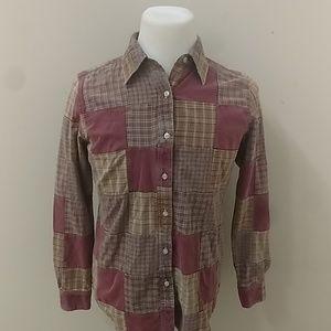 Tailor Vintage Cotton button up shirt